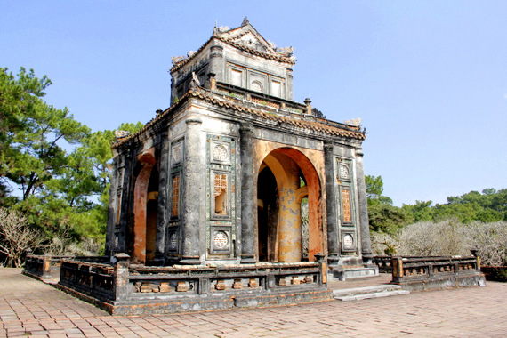 Tomb of Tu Duc Hue Vietnam
