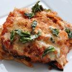 For Your Honey on V-Day… Eggplant Parmesan Linguine Bake (REDUCED FAT)