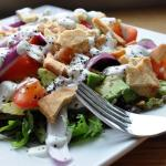 A 15 Minute Mexican-Greek Salad
