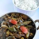 Venkaya Vepudu / Baingan Fry (Brinjal Fry South Indian style)