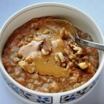 Carrot & Peanut Butter Oatmeal!
