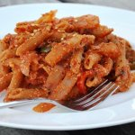 Bell Pepper Ricotta Pasta – inspired by Bimi Aunty!