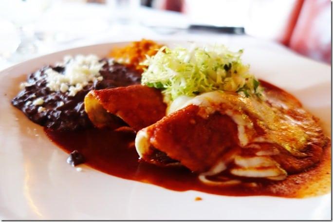 Braised Short Rib Enchiladas - Red O Newport Beach