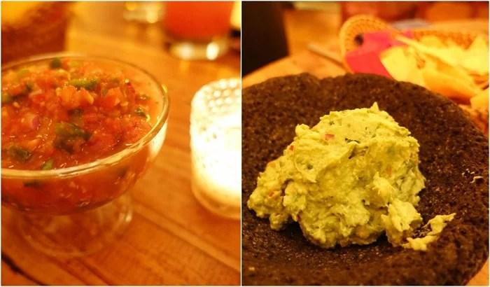 Salsa, Guacamole - Papatzul, NYC
