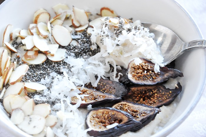 ... added some coconut and figs for some creaminess and sweetness