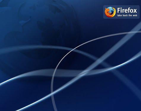 fondo azul lineas firefox