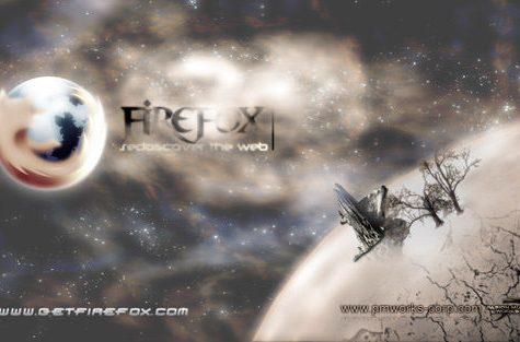 fondo arte firefox