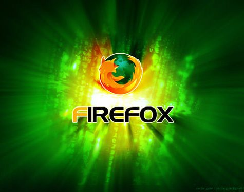 fondo verde orange firefox