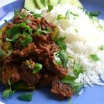 Lamb with Green Peppers