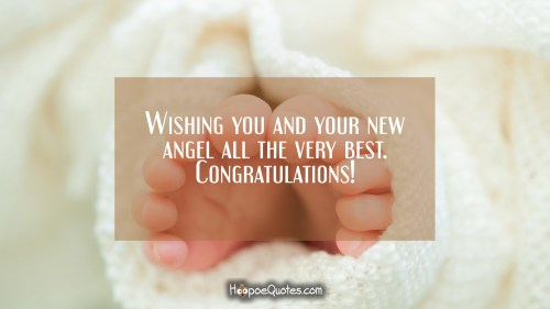 Medium Of Congratulations On New Baby