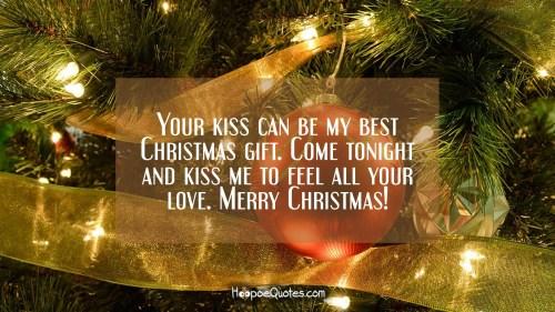 Medium Of Christmas Love Quotes