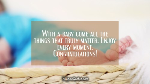 Medium Of Congratulations New Baby