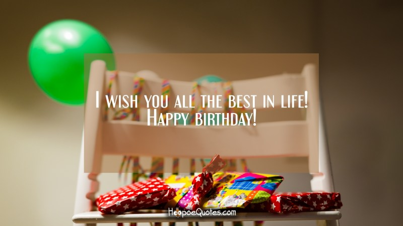 Large Of I Wish You All The Best