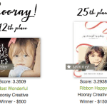 Minted Holiday Card Winners