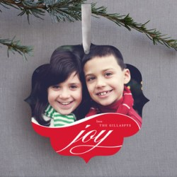 Flowing Joy Ornament Card