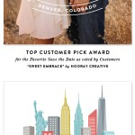 Award-Winning Save the Dates