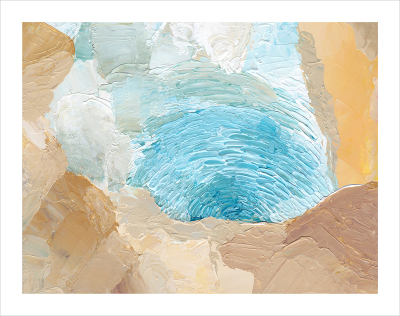 Reflecting-Pool-abstract-painting