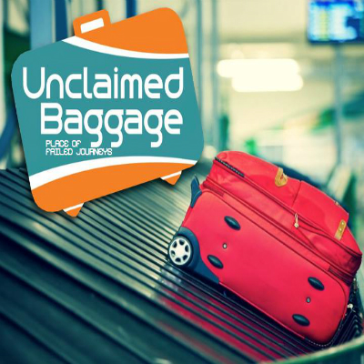 unclaimed baggage' tag...