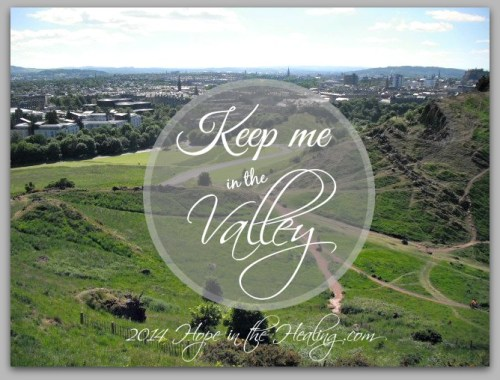 Keep me in the valley