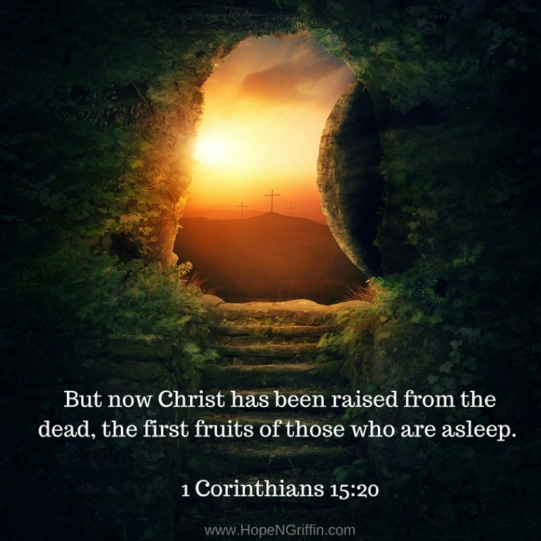 1 Corinthians 15-20 Easter