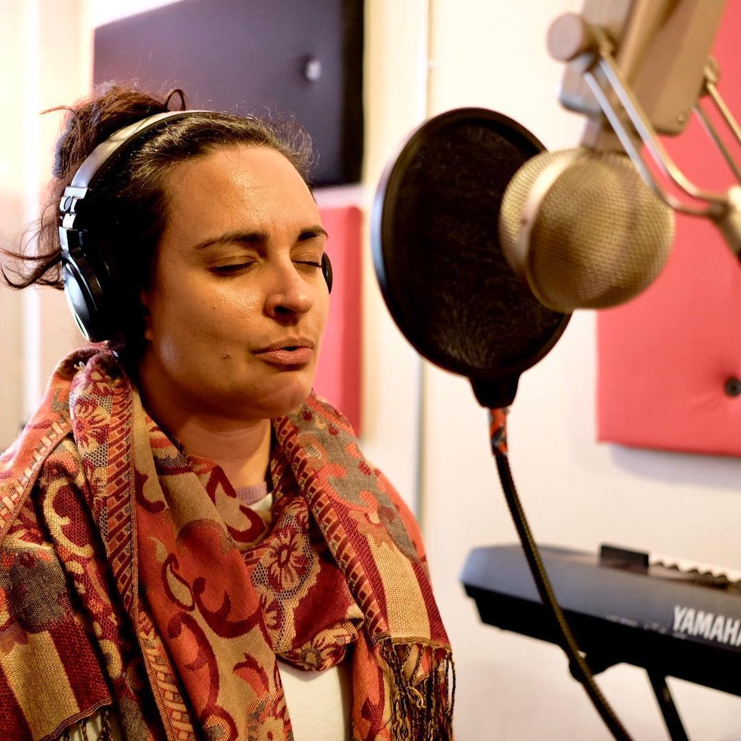 Aujourdhui noussommesbathyscaphe enregistre des voix dans Element avec maudeeva maximebergeronhellip