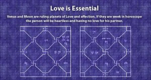 Love is essential for marriage in horoscope