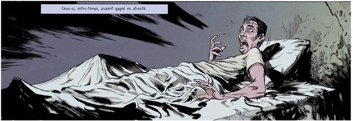 Extrait de Les rêves dans la maison de la sorcière (Lovecraft/Sapin/Pion)