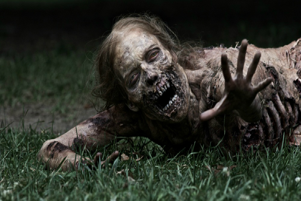 girl zombie The Walking Dead AMC tv show image
