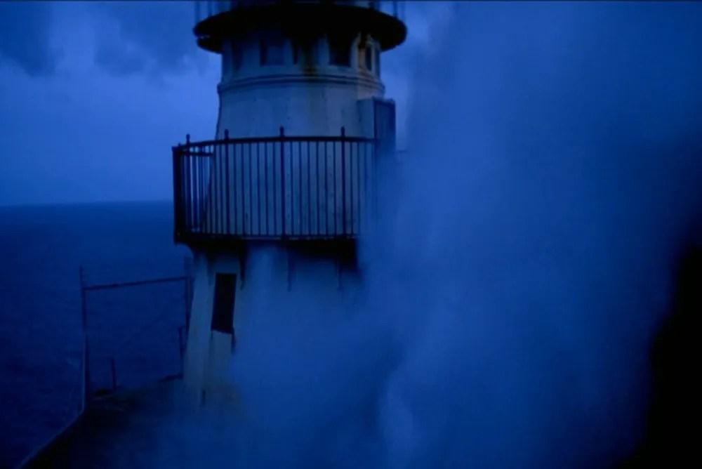 3. The Fog, fog engulfing the lighthouse