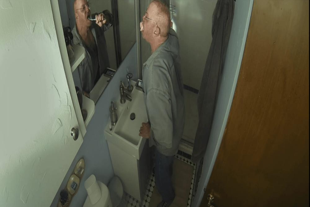 3. 13 Cameras, toothbrush scene