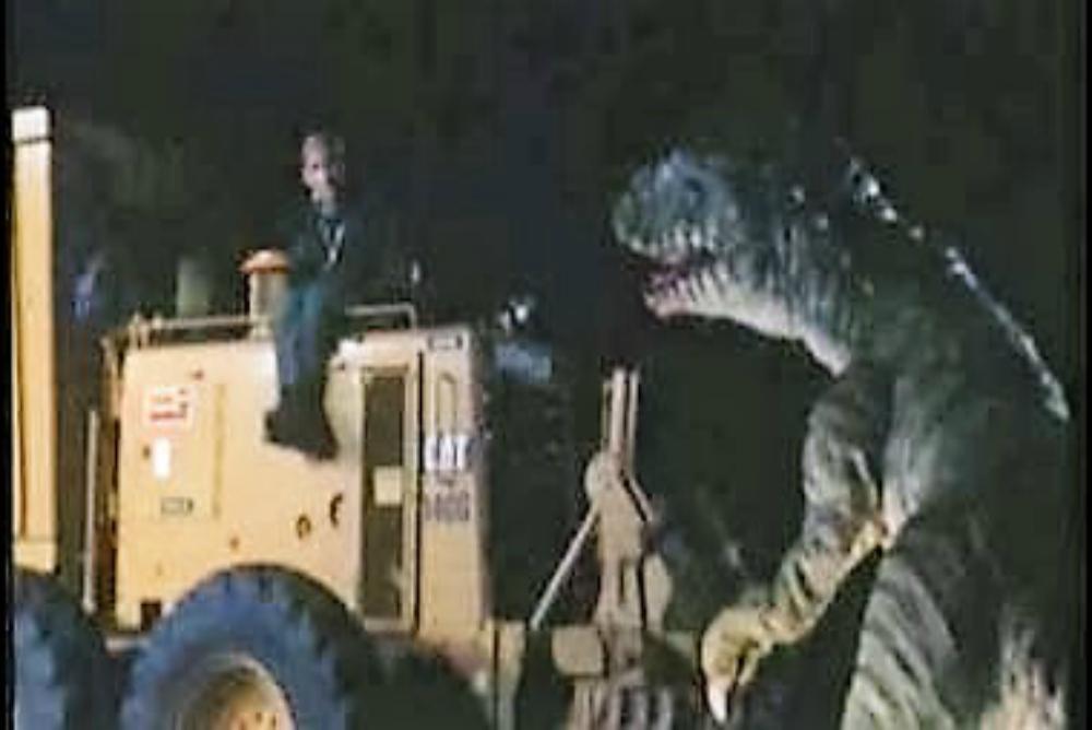 1. Carnosaur, dinosaur attack