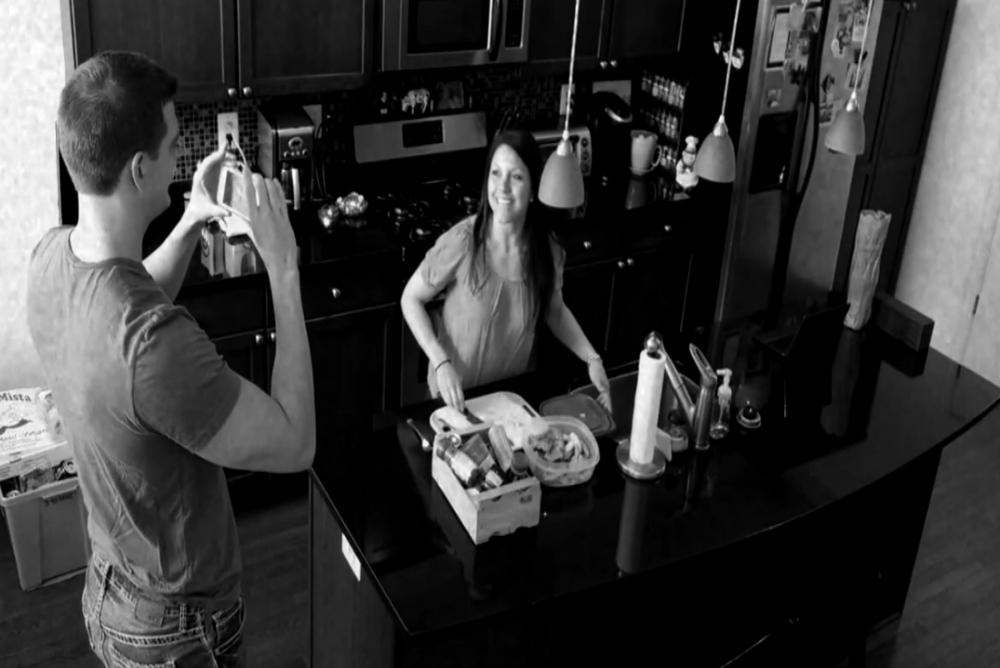 2. The Break-In, Jeff and Melissa, sec cam
