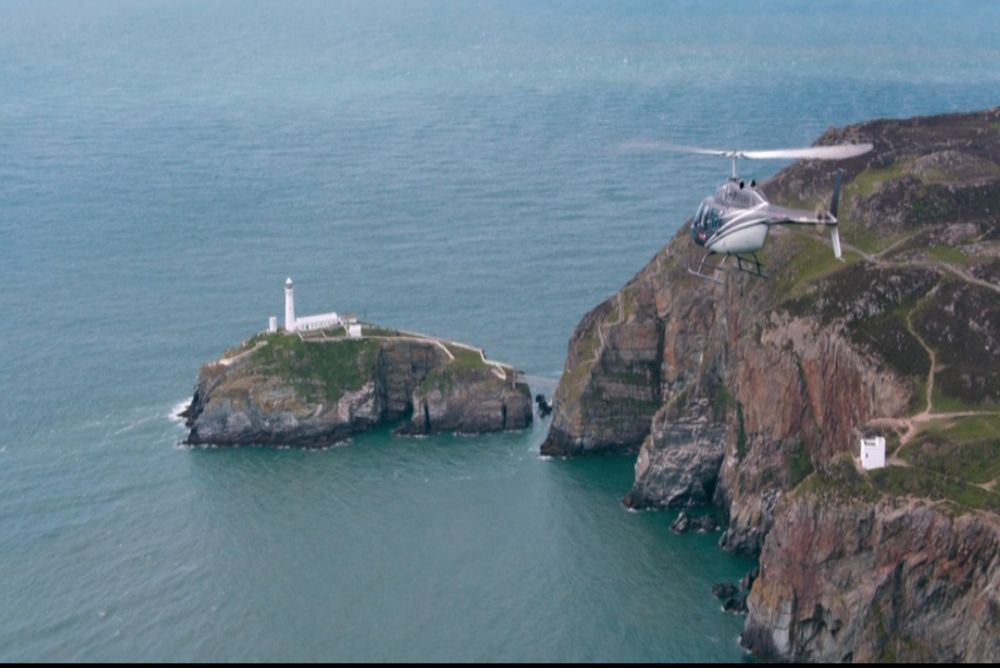 6. Billionaire, helicopter south stack