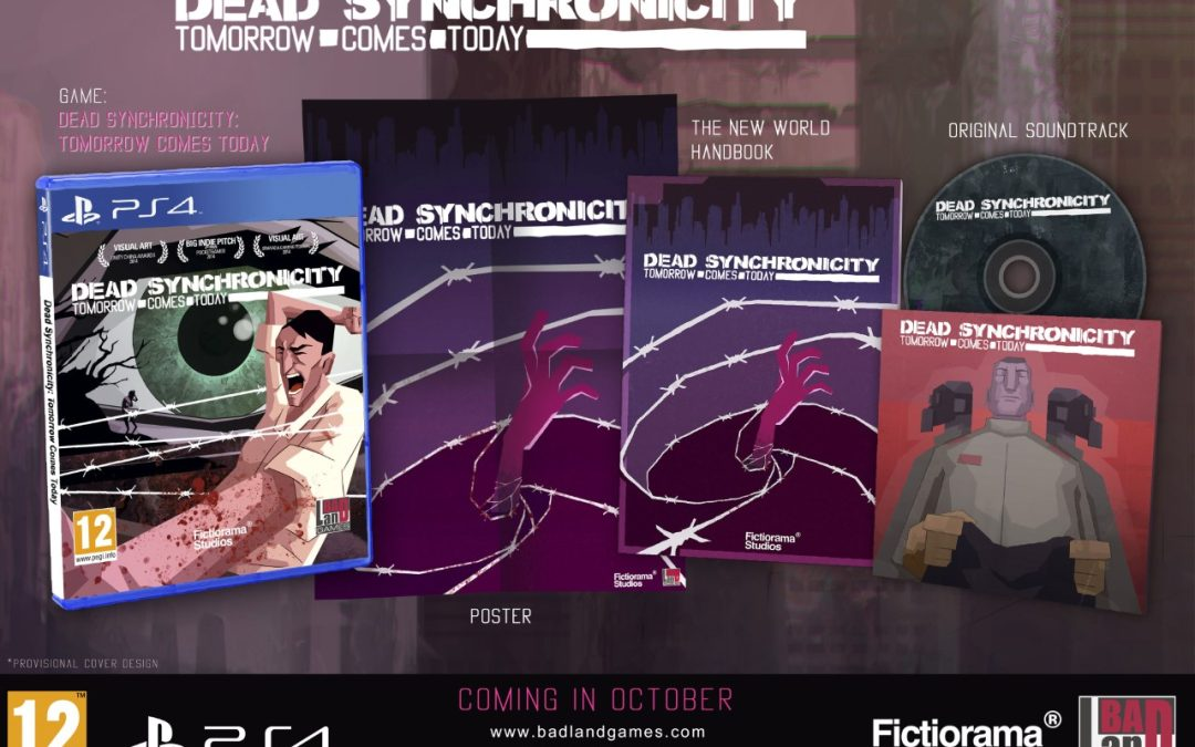 'Dead Synchronicity: Tomorrow Comes Today' is Out Now for PlayStation 4