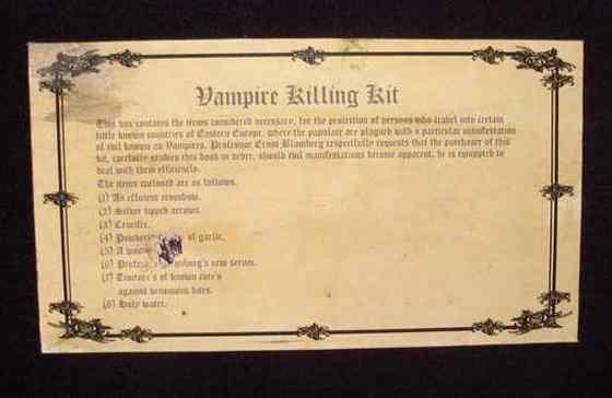Equipment for killing vampires05