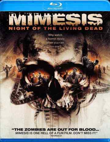 Mimesis Night of the Living Dead dvd cover