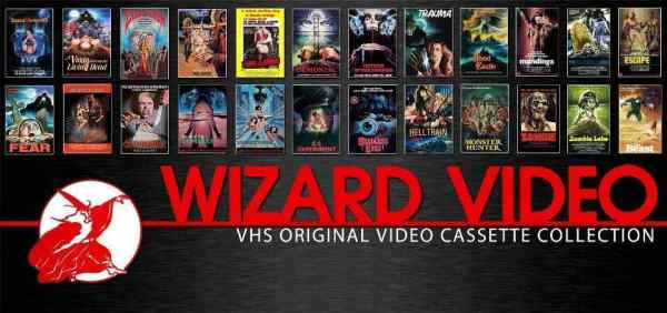 Horror Society: Charles Band Digs up Lost Wizard Video Big Box VHS Collections   www.horrorsociety.com