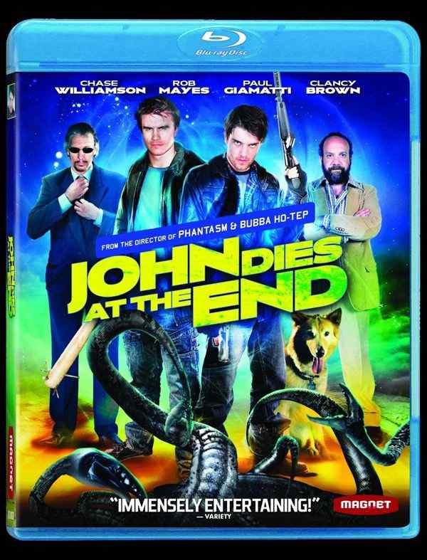 John Dies at the End bluray cover
