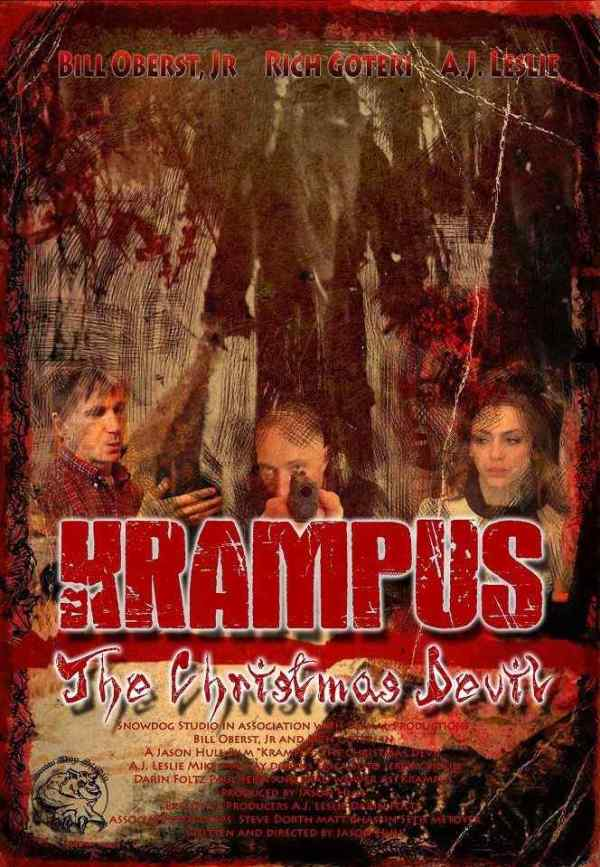 Horror Society: First Poster for Bill Oberst Jr. Chiller, Krampus: The Christmas Devil   www.horrorsociety.com