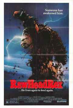 Rawhead Rex movie poster