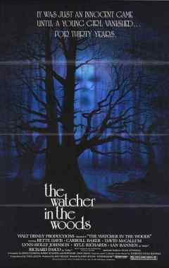 The Watcher in the Woods movie poster