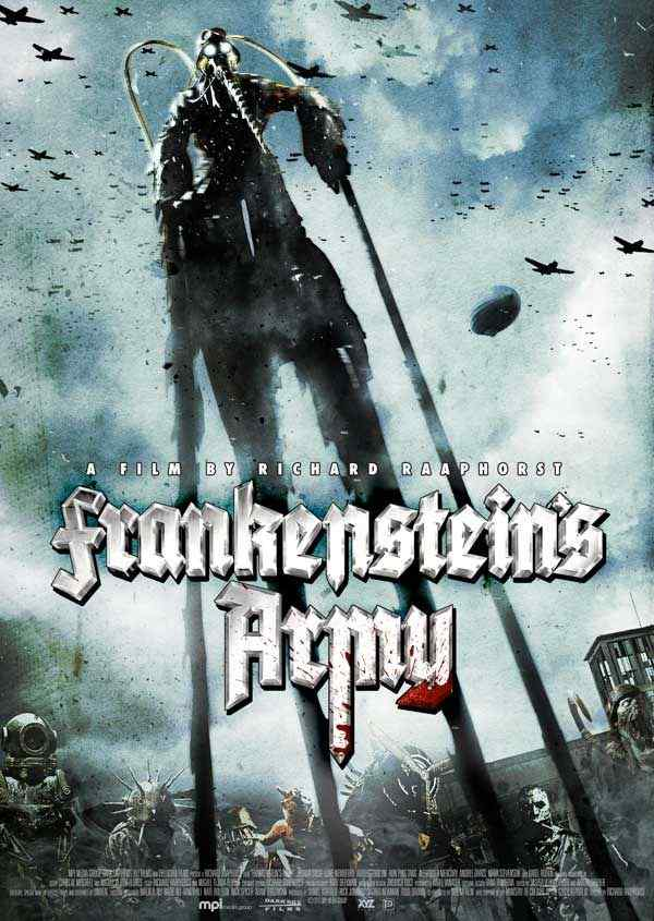 Frankenstein's Army movie poster 2