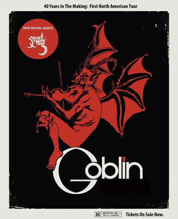 Horror Society: Italian Band Goblin To Launch U.S. Tour   www.horrorsociety.com