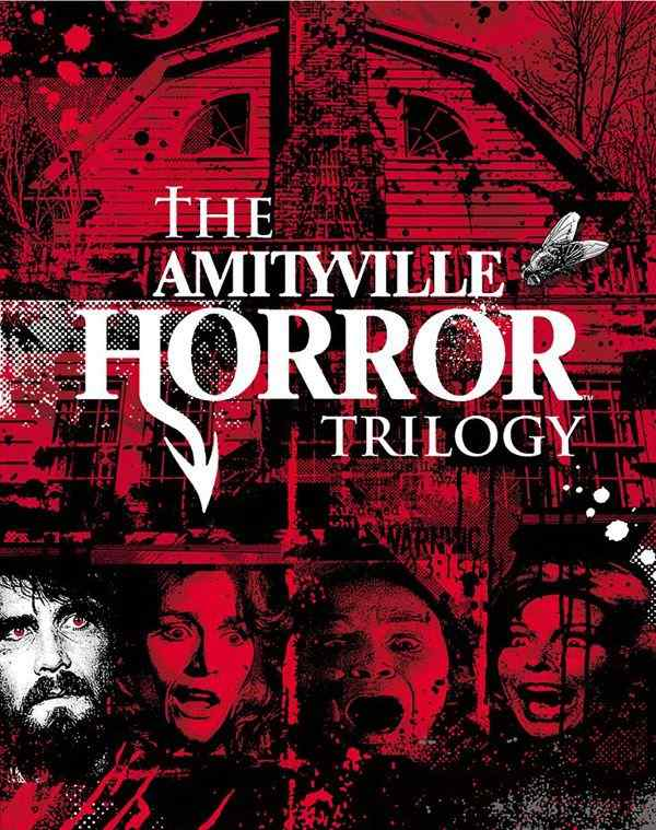 The Amityville Horror Trilogy bluray cover