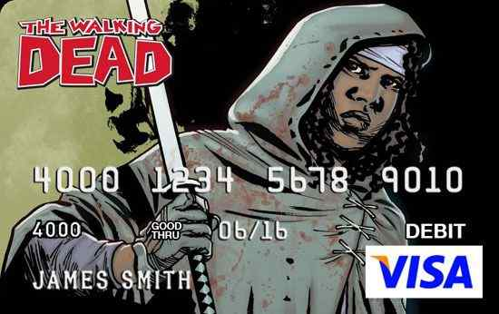 The Walking Dead visa card 3