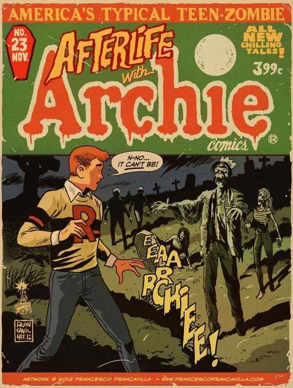 Afterlife With Archie cover 3