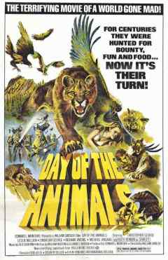 Day of the Animals movie poster