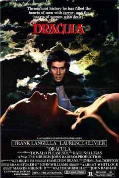 Dracula 1979 movie poster