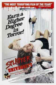 Splatter University movie poster