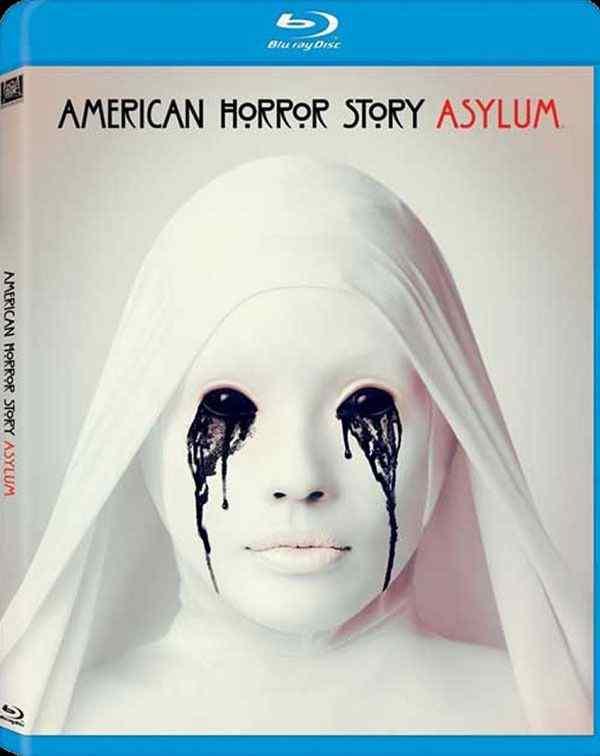 American Horror Story Asylum Bluray cover